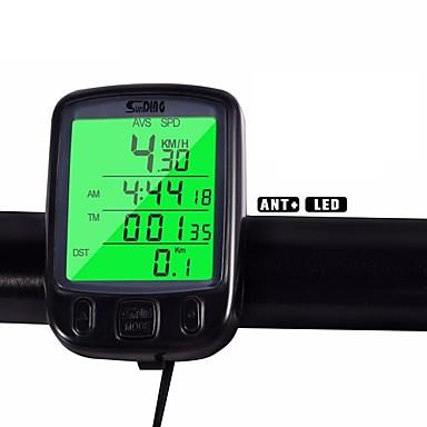 Bisiklet Dağ Bisikleti Bisiklet BilgisayarıAv- Ortalama Hız Odo - Kilometre Sayacı SPD - Akım Hızı Kilometre Sayacı arka Tme - Lapsed