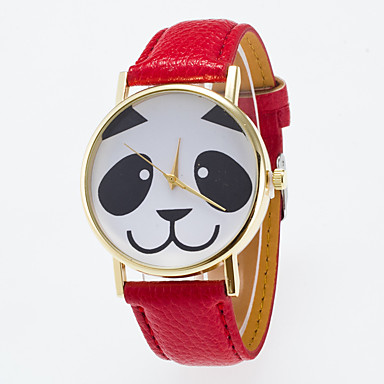 Kadın's Bilek Saati Elbise Saat Moda Saat Spor Saat Quartz Gerçek Deri Bant İhtişam Günlük Çok-Renkli