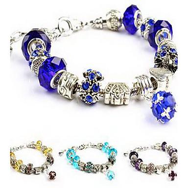 أساور السلسلة والوصلة كريستال ترف حب الطبيعة كريستال تقليد الماس أخرى مجوهرات عيد ميلاد هدية