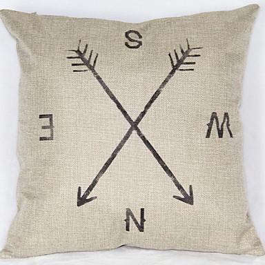 1 szt Bielizna Syntetyczny Pokrywa Pillow, Geometryczny Modern / Contemporary