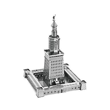Zabawki 3D Puzzle Metalowe puzzle Model Bina Kitleri Zabawki Wieża Znane budynki Architektura 3D Latarnia morska DIY Metal Dziecięce Sztuk