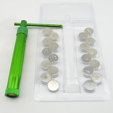 Bakeware araçları Aluminyum / Paslanmaz Çelik Çevre-dostu / Yapışmaz Kek / Kurabiye / Tart Tatlı dekoratörler 1set