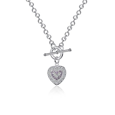 Γυναικεία Καρδιά Εξατομικευόμενο Μοναδικό Κρεμαστό Βίντατζ Μποέμ Βασικό Love Φιλία Πανκ Προσαρμόσιμη Λατρευτός Χιπ-Χοπ Rock χαριτωμένο