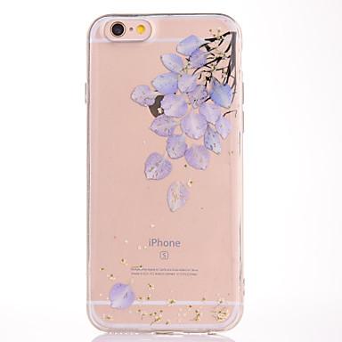 إلى IMD مطرز نموذج غطاء غطاء خلفي غطاء زهور ناعم TPU إلى Apple فون 7 زائد فون 7 iPhone 6s Plus/6 Plus iPhone 6s/6
