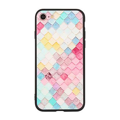 Için Temalı Pouzdro Arka Kılıf Pouzdro Geometrik Desenli Sert Akrilik için Apple iPhone 7 Plus iPhone 7 iPhone 6s Plus/6 Plus iPhone 6s/6