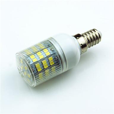 1pc 4.5W 400 lm E14 G9 GU10 E12 E27 LED Φώτα με 2 pin T 60 leds SMD 2835 Διακοσμητικό Θερμό Λευκό Ψυχρό Λευκό 7000K AC220 AC 85-265V