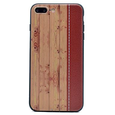 Uyumluluk Kılıflar Kapaklar Süslü Arka Kılıf Pouzdro Ağaç Damarları Yumuşak TPU için Apple iPhone 7 Plus iPhone 7 iPhone 6s Plus iPhone 6