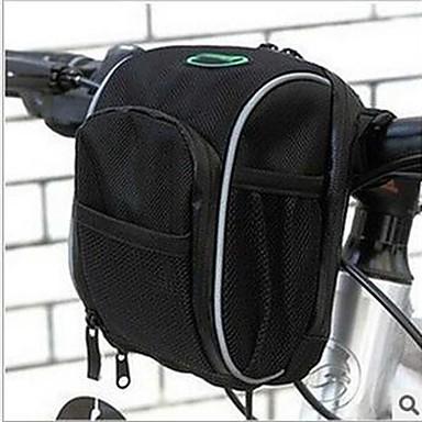 Τσάντα ποδηλάτου Τσάντα για τιμόνι ποδηλάτου Φοριέται Τσάντα ποδηλάτου Τερυλίνη Τσάντα ποδηλασίας Ποδηλασία / Ποδήλατο