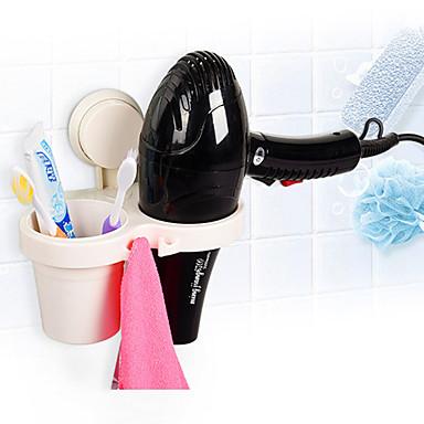 Σετ αξεσουάρ μπάνιου Ράφιι μπάνιου Θήκη για οδοντόβουρτσα Σύγχρονο Πλαστικό Τοποθέτηση σε Τοίχο