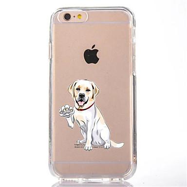 Kılıf Na Apple iPhone X iPhone 8 Przezroczyste Wzór Czarne etui Pies Miękkie TPU na iPhone X iPhone 8 Plus iPhone 8 iPhone 7 Plus iPhone
