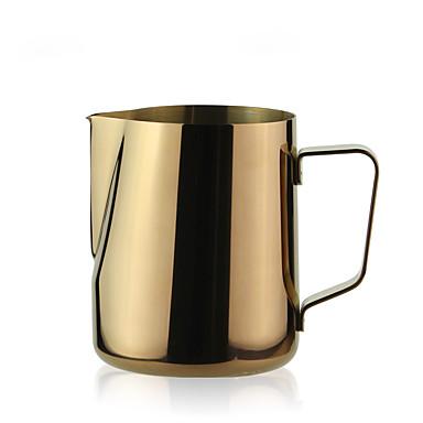 # ml Stal nierdzewna Dzbanek mleka , Brew kawy Producent Wielokrotnego użytku Ręczny
