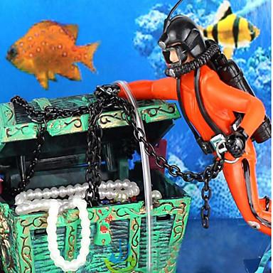 Dekoracja Aquarium Zdobienia Nietoksyczne i bez smaku Plastikowy