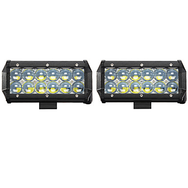 cheap Vehicle Work Lighting-2pcs Car Light Bulbs 60W High Performance LED / COB / Integrated LED 6000lm LED Working Light