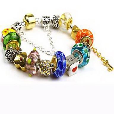 Bransoletki i łańcuszki na rękę Miłość Natura Paciorki Kryształ Biżuteria Biżuteria Na Urodziny