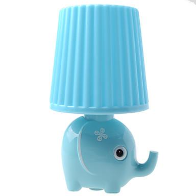 kly podłączając małej nocnej lampy led stylu cartoon słoń kreatywny nocny lampy
