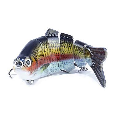 1 pcs جهاز كمبيوتر شخصى (المنوة) سمك اوروبي / خدع الصيد (المنوة) سمك اوروبي بلاستيك الصيد العام
