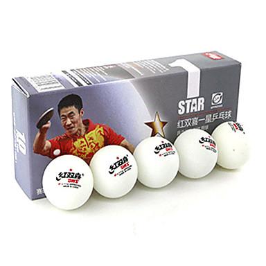 10pcs 1 Yıldız Ping Pang/Masa Tenisi Topu Plastik Giyilebilir Dayanıklı Stabilite