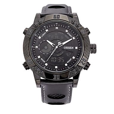 Bărbați Ceas Sport Ceas Elegant Ceas Schelet Ceas La Modă Ceas de Mână Quartz Piele Autentică Bandă Charm Casual Multicolor