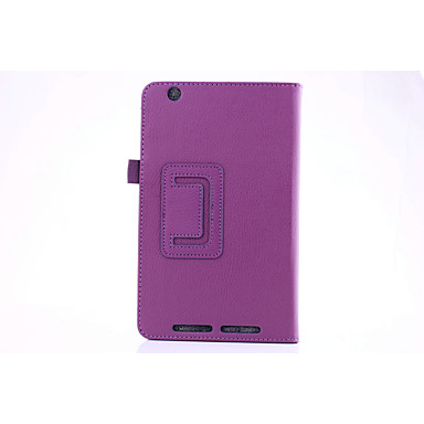 PU δέρμα Συμπαγές Χρώμα Θήκες για Tablets 8