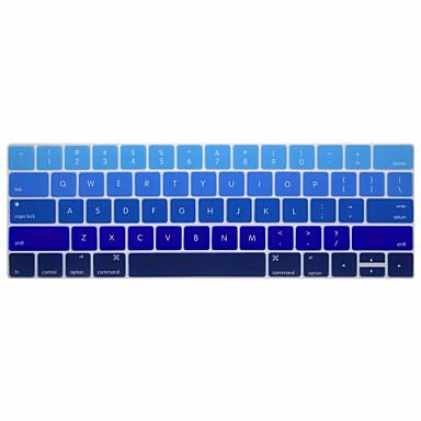 xskn® ingilizce degrade silikon klavye deri ve dokunmatik çubuğu retina ile 13.3 / 15.4 pro 2016 yeni macbook için touchbar koruyucusu