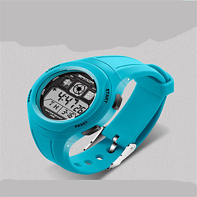 Χαμηλού Κόστους Ανδρικά ρολόγια-KEZZI Παιδικά Αθλητικό Ρολόι Χαλαζίας / σιλικόνη Μπάντα Καθημερινά Μαύρο Μπλε Κόκκινο Πράσινο Ροζ Χέρι Πράσινο Κόκκινο Μπλε Ροζ Μπλε Απαλό