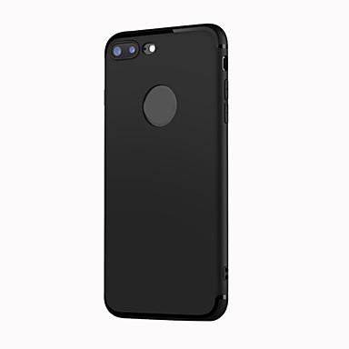 Käyttötarkoitus iPhone 8 iPhone 8 Plus kotelot kuoret Himmeä Takakuori Etui Yhtenäinen väri Pehmeä TPU varten Apple iPhone 8 Plus iPhone