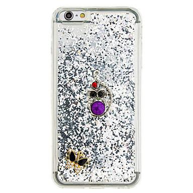 Pentru Scurgere Lichid Reparații Maska Carcasă Spate Maska Shine Glitter Moale TPU pentru AppleiPhone 7 Plus iPhone 7 iPhone 6s Plus/6