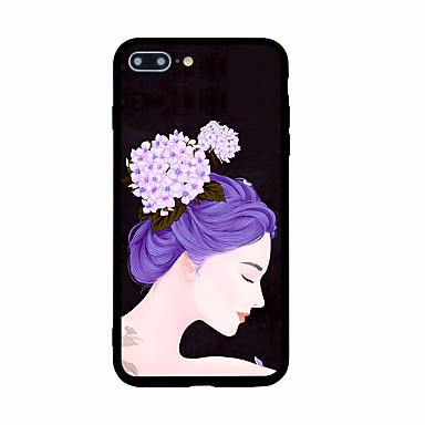 Na Wzór Kılıf Etui na tył Kılıf Seksowna dziewczyna Twarde Akrylowy na AppleiPhone 7 Plus iPhone 7 iPhone 6s Plus iPhone 6 Plus iPhone 6s