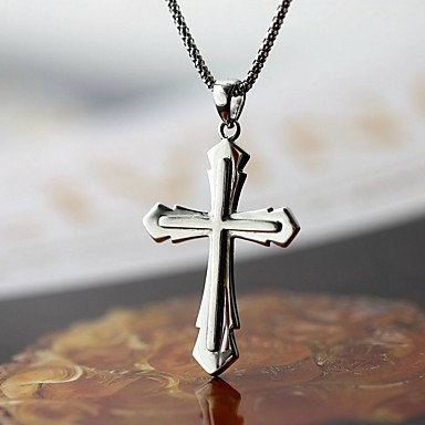 Bărbați Pandative Cross Shape Plastic În Cruce Bijuterii Pentru Zilnic Casual