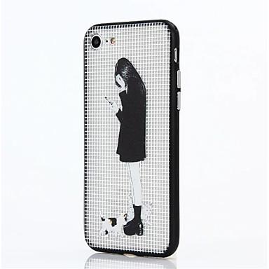 Pentru Anti Șoc Maska Carcasă Spate Maska Femeie Sexy Greu PC pentru AppleiPhone 7 Plus iPhone 7 iPhone 6s Plus iPhone 6 Plus iPhone 6s