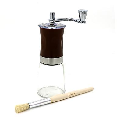# مل ستانلس ستيل زجاج مطحنة القهوة ، المشروب القهوة صانع يعاد استعماله الدليل