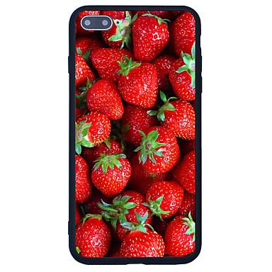 Varten Kuvio Etui Takakuori Etui Hedelmä Kova Akryyli varten Apple iPhone 7 Plus iPhone 7 iPhone 6s Plus iPhone 6s iPhone SE/5s