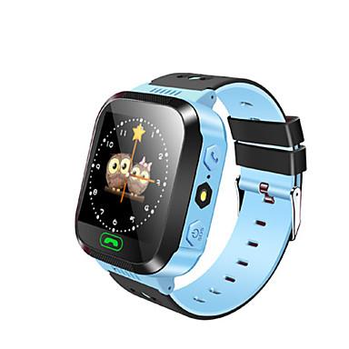Çocuk Saatleri GPS Dokunmatik Ekran Adım Sayaçları Mesafe Takip Anti-kayıp Mesaj Kontrolü El Kullanmadan Aramalar Uzun Bekleme Aktivite
