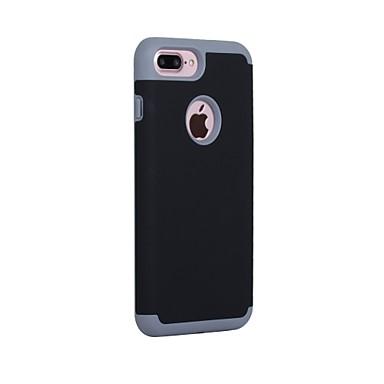 tok Για Apple iPhone 7 Plus iPhone 7 Ανθεκτική σε πτώσεις Εξαιρετικά λεπτή Πίσω Κάλυμμα Συμπαγές Χρώμα Σκληρή PC για iPhone 7 Plus iPhone