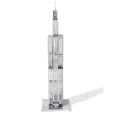 Παζλ 3D Παζλ Μεταλλικά παζλ Kit de Construit Παιχνίδια Διάσημο κτίριο Αρχιτεκτονική 3D Sears Tower Φτιάξτο Μόνος Σου Μεταλλικό Παιδικά