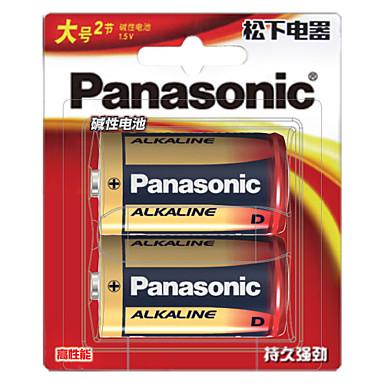 Panasonic lr20bch / 2b d emäksinen akku 1.5V 2 kpl