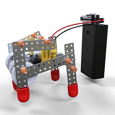 Zabawki Dla chłopców Discovery Toys Zestaw DIY Robot Robot ABS Blaknięcie Czarny