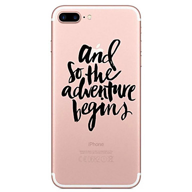 6s 7 7 Plus Frasi Apple iPhone iPhone Morbido 05752721 Per retro TPU Transparente iPhone iPhone Plus Plus per famose Fantasia disegno Per 7 7 iPhone Custodia gqSXtw