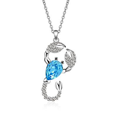 Kadın's Uçlu Kolyeler Kristal Hayvan Tasarımı Moda Kişiselleştirilmiş Euramerican Mücevher Uyumluluk Düğün Parti Doğumgünü