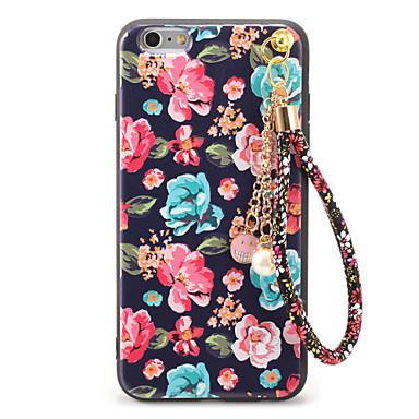 Na Wytłaczany wzór Wzór DIY Kılıf Etui na tył Kılıf Kwiat Miękkie TPU na AppleiPhone 7 Plus iPhone 7 iPhone 6s Plus iPhone 6 Plus iPhone