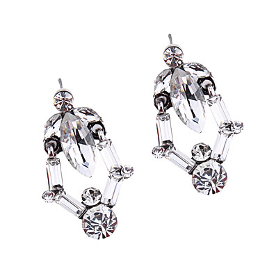 Kadın's Vidali Küpeler Mücevher Moda Eski Tip Euramerican Değerli Taş Mücevher Mücevher Uyumluluk Düğün Parti Özel Anlar