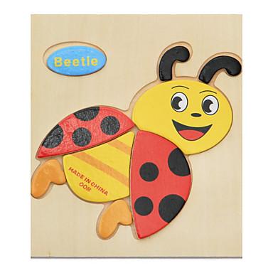 Εκπαιδευτικές κάρτες Παζλ Ξύλινα παζλ Εκπαιδευτικό παιχνίδι Ζώα Φτιάξτο Μόνος Σου Διασκέδαση Κλασσικό Κινούμενα σχέδια Παιδικά Δώρο