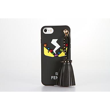 Etui Käyttötarkoitus Apple iPhone 7 Plus iPhone 7 Kuvio DIY Takakuori Kimmeltävä Piirretty Pehmeä TPU varten iPhone 7 Plus iPhone 7