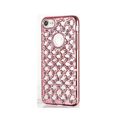 Etui Käyttötarkoitus iPhone 7 Plus iPhone 7 Apple Paljetti Pinnoitus Takakuori Kimmeltävä Pehmeä TPU varten iPhone 7 Plus iPhone 7