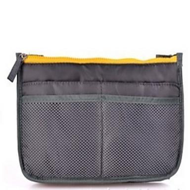 حقيبة أدوات تجميل للسفر حقيبة مستحضرات التجميل منظم أغراض السفر المحمول متعددة الوظائف سميك تخزين السفر إلى ملابس نايلون /