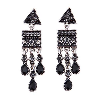 Damskie Kolczyki wiszące Biżuteria Modny Postarzane euroamerykańskiej Syntetyczne kamienie szlachetne Biżuteria Biżuteria Na Ślub Impreza