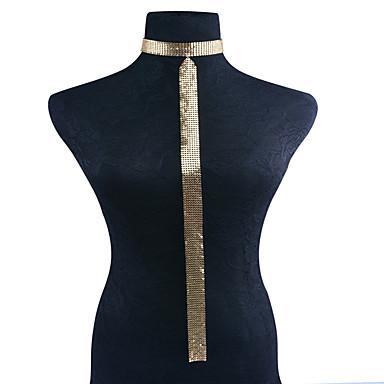 للمرأة سلسلة الجسم / سلسلة البطن سبيكة موضة Geometric Shape مجوهرات الجسم  من أجل حزب مناسبة خاصة فضفاض مجوهرات
