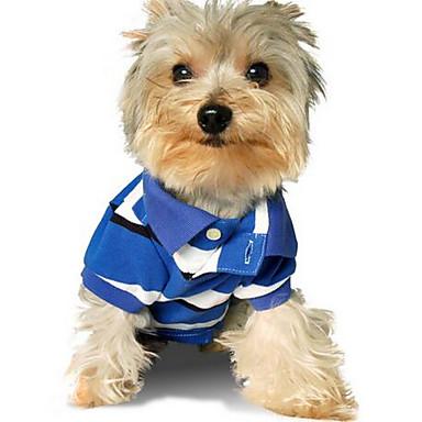 Pies T-shirt Ubrania dla psów Urocza Codzienne Modny Stały Green Niebieski Różowy Kostium Dla zwierząt domowych
