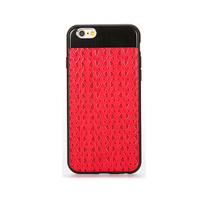 Varten Pinnoitus Etui Takakuori Etui Yksivärinen Pehmeä Silikoni varten AppleiPhone 7 Plus iPhone 7 iPhone 6s Plus iPhone 6 Plus iPhone
