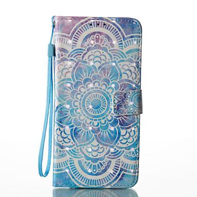 Etui Käyttötarkoitus Samsung Galaxy S8 Plus S8 Korttikotelo Lomapkko Tuella Flip Magneetti Kuvio Suojakuori Mandala Kova PU-nahka varten